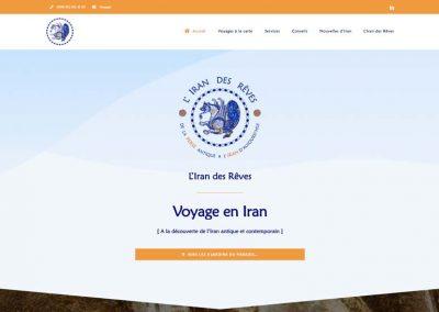 طراحی سایت آژانس گردشگری - تور و مسافرتی
