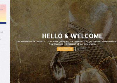 طراحی سایت انجمن باستان شناسی ایران و فرانسه