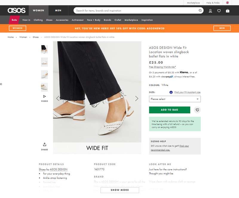نمونه ای ایجاد تعادل و شفافیت بین نوشته ها و سایر عناصر بصری در طراحی وب