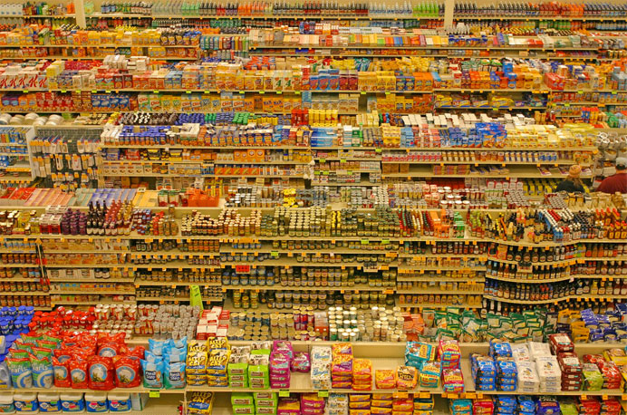 دسته بندی انبوه محصولات با ویژگی مشترک در فروشگاه